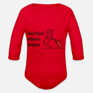 Travel Bag - Organic Long-Sleeved Baby Bodysuit