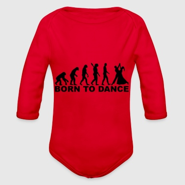 Born In born to - Organic Long Sleeve Baby Bodysuit