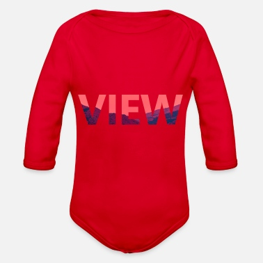 View VIEW - Organic Long-Sleeved Baby Bodysuit