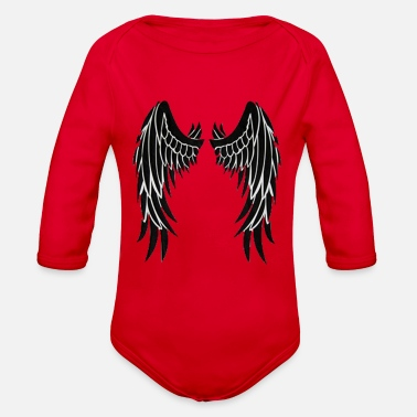 Wing Wings - Organic Long Sleeve Baby Bodysuit
