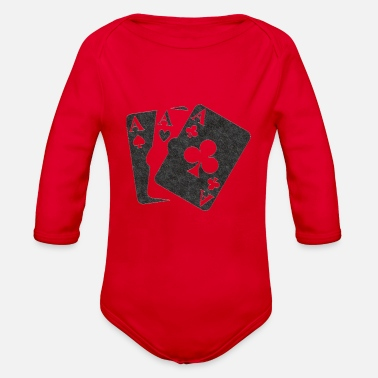Cards Cards - Organic Long-Sleeved Baby Bodysuit