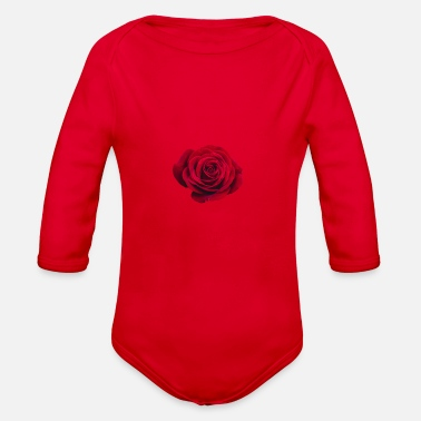 Rose Rose - Organic Long Sleeve Baby Bodysuit