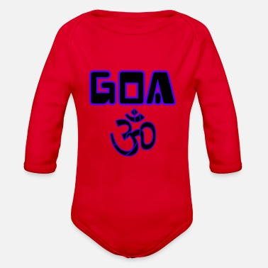 Goa goa ohmen - Organic Long-Sleeved Baby Bodysuit