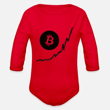 Movement Bitcoin Movement - Organic Long-Sleeved Baby Bodysuit
