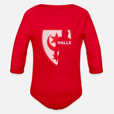 Hall Halle - Organic Long-Sleeved Baby Bodysuit