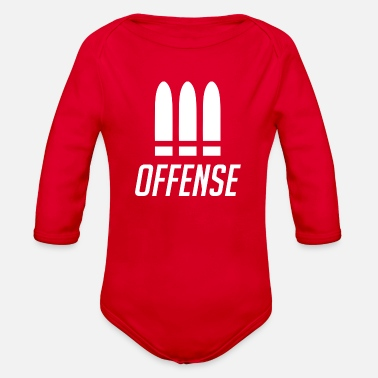 Offensive Offensive - Organic Long Sleeve Baby Bodysuit
