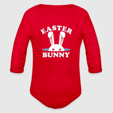Easter Bunny Easter Day - Organic Long Sleeve Baby Bodysuit