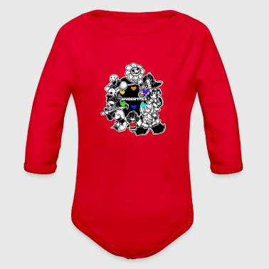 undertale - Organic Long Sleeve Baby Bodysuit