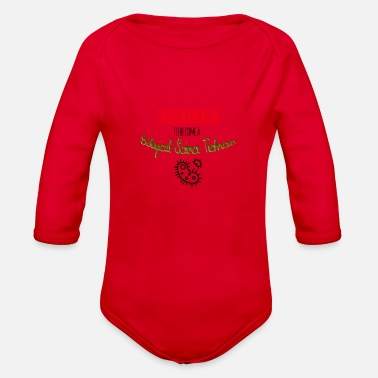 Biological Biological science technician - Organic Long Sleeve Baby Bodysuit