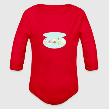 Lolly family - Organic Long Sleeve Baby Bodysuit