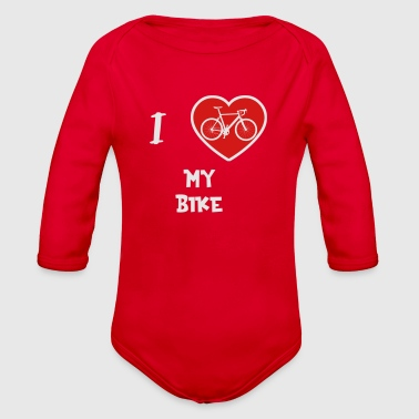 Bicycle-tour Bicycle Bike Tour Sport Cyclist Cycling Mountain - Organic Long Sleeve Baby Bodysuit