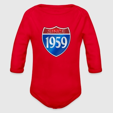 Since 1959 - Organic Long Sleeve Baby Bodysuit