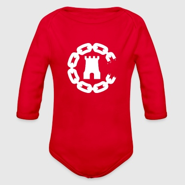 Crooks&Castles - Organic Long Sleeve Baby Bodysuit