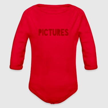 Pictures - Organic Long Sleeve Baby Bodysuit