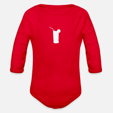 Drinking Contest drink - Organic Long-Sleeved Baby Bodysuit