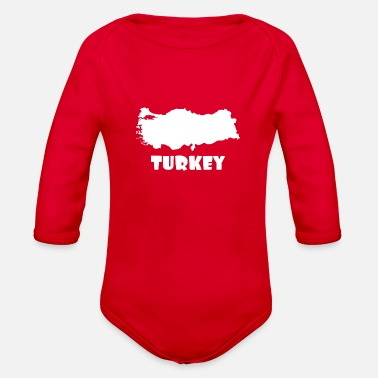 Turkey Turkey - Organic Long-Sleeved Baby Bodysuit