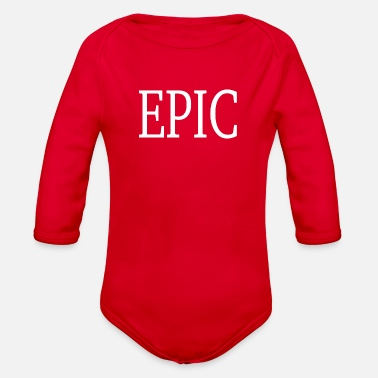 Present EPIC - present / gift - Organic Long-Sleeved Baby Bodysuit