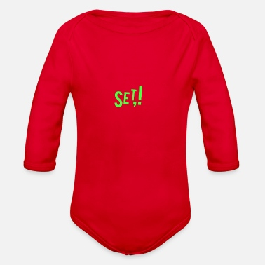Set Set - Organic Long-Sleeved Baby Bodysuit