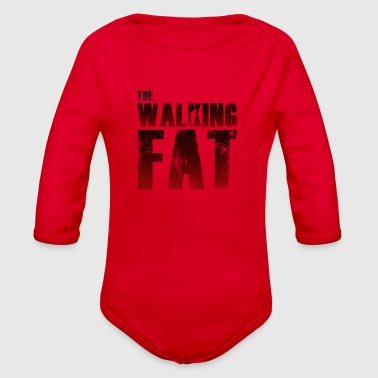 FAT | The Walking Fat - Organic Long Sleeve Baby Bodysuit