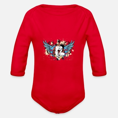 Tatoo tatoo - Organic Long Sleeve Baby Bodysuit