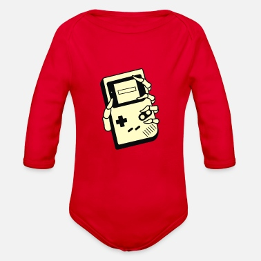 Game GAMING IS FOREVER - Organic Long-Sleeved Baby Bodysuit