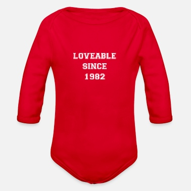 Loveable Loveable since 1982 - Organic Long-Sleeved Baby Bodysuit