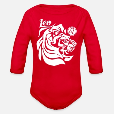 Leo Leo - Organic Long-Sleeved Baby Bodysuit