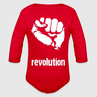 Revolution - Organic Long Sleeve Baby Bodysuit