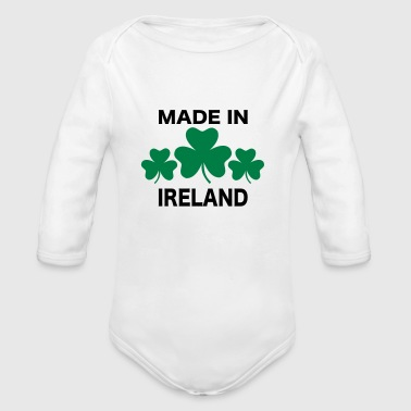 Ireland - Long Sleeve Baby Bodysuit