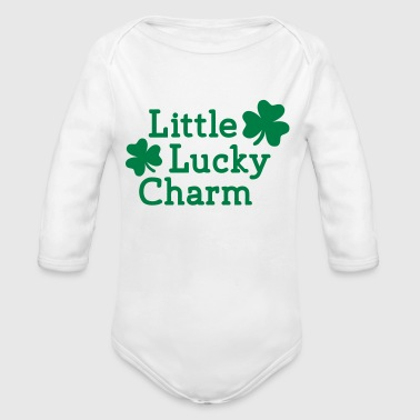 Little Lucky charm - Long Sleeve Baby Bodysuit