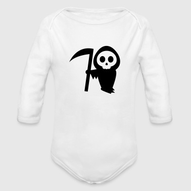 Grim Reaper - Long Sleeve Baby Bodysuit
