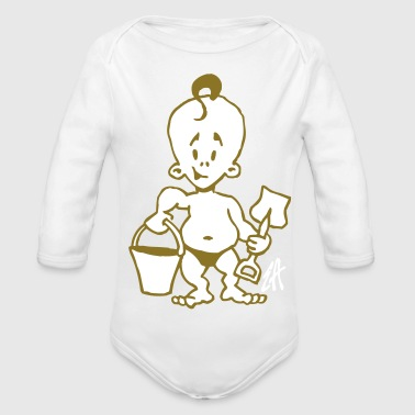 Baby - Organic Long Sleeve Baby Bodysuit