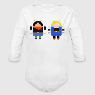 Android ANDROIDS - Organic Long Sleeve Baby Bodysuit