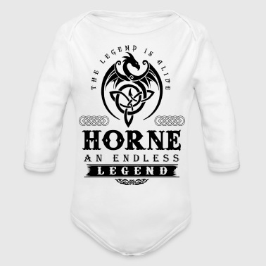 Horns HORNE - Organic Long Sleeve Baby Bodysuit