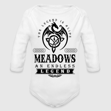 MEADOWS - Organic Long Sleeve Baby Bodysuit