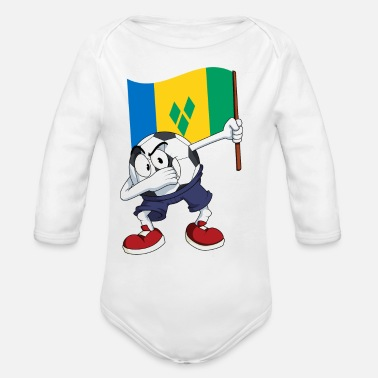 Saint Vincent And The Grenadines Saint Vincent and the Grenadines - Organic Long-Sleeved Baby Bodysuit