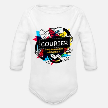 Courier COURIER - Organic Long Sleeve Baby Bodysuit