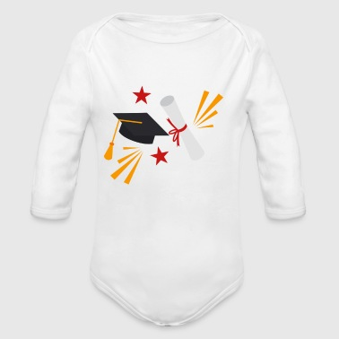 Graduation - Pre - K Nailed It - Organic Long Sleeve Baby Bodysuit