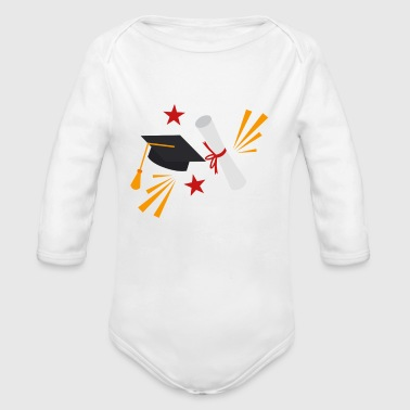 Graduation - Pre School Class Of 2018 - Organic Long Sleeve Baby Bodysuit