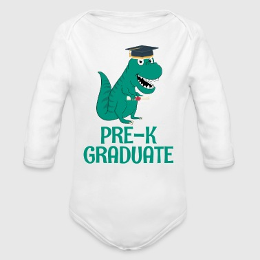 Graduation Pre-K - Organic Long Sleeve Baby Bodysuit