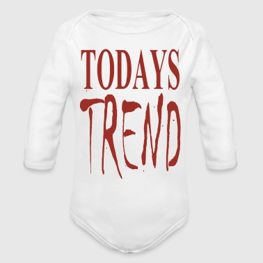 todays trend - Organic Long Sleeve Baby Bodysuit