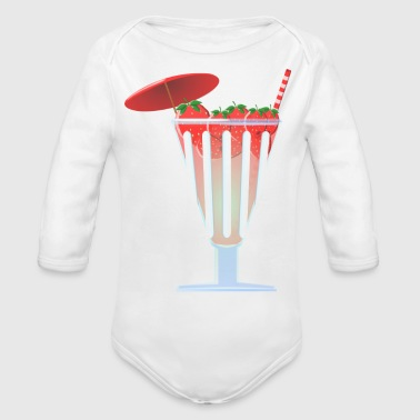 punch - Organic Long Sleeve Baby Bodysuit