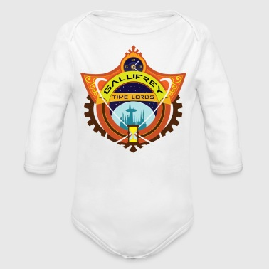 Gallifrey Time Lords - Organic Long Sleeve Baby Bodysuit