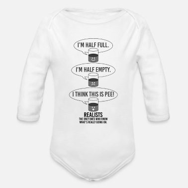 Realist Realists - Organic Long-Sleeved Baby Bodysuit