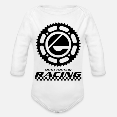 Sprocket sprocket - solid - Organic Long Sleeve Baby Bodysuit