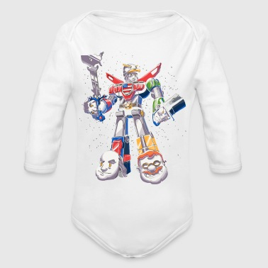 United - Organic Long Sleeve Baby Bodysuit