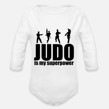 Judoka Judoka - Organic Long-Sleeved Baby Bodysuit