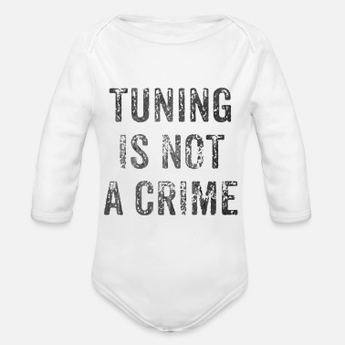 Tuning Tuning - Organic Long-Sleeved Baby Bodysuit