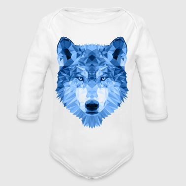 Ice Wolf - Long Sleeve Baby Bodysuit