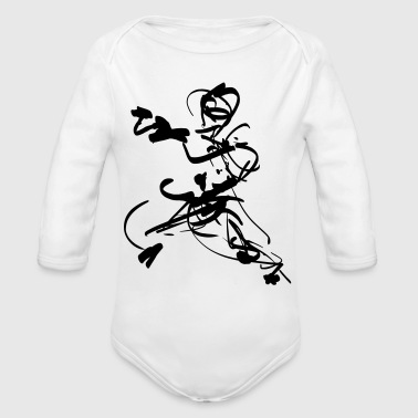mantis style - Organic Long Sleeve Baby Bodysuit